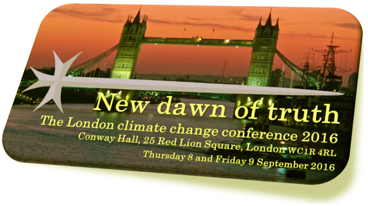 New Dawn of Truth London climate change conference